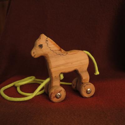 Cavallino con ruote
